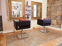 (Experienced Hairdresser)Chair for rent %basis in busy city centre salon