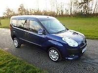 FIAT DOBLO 1.6 MULTIJET DYNAMIC 5d 105 BHP (blue) 2012