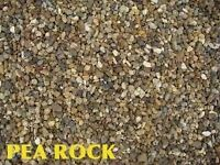 PEA ROCK,SAND,CRUSHED ROCK,DUST,TOPSOIL....FREE DELIVERY