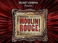 x2 Secret Cinema Tickets (Moulin Rouge) Weds 29th March 2017 £50 each (will consider offers)