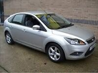 FORD FOCUS 2008.NEW MODEL 1.6 -CHEAP TAX ONLY 1300 POUNDS. BARGAIN NOT ASTRA,CLIO,LEON,GOLF,CORSA