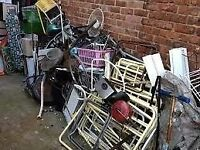 Man and van rubbish removals, cheap and cheerful, suit all budgets don't delay call today