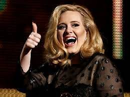 """ADELE """"ONE"""" Adelaide Concert TICKET A RESERVE  SECTION 108  Row H Bellevue Heights Mitcham Area Preview"""