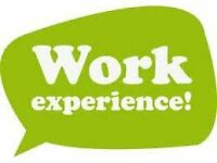 4 WEEKS UNPAID WORK EXPERIENCE APPLY NOW!