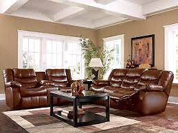 Leather recliner lounge suite lazyboy style Bakery Hill Ballarat City Preview