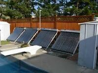 Solar Pool Heaters -  DIY