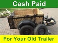 Old Trailers Wanted