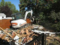 Demolition and gutting services commercial & residential