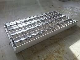 Recessed lights fittings 1200 x 600, 4 tube units