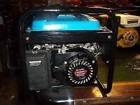 ( 240V ONLY ) 2.3KVA 4 STROKE PETROL GENERATOR WITH HIGH CAPACITY FUEL TANK LIKE NEW