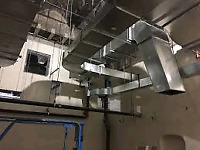 We do all types of duct work. Residential and Commercial