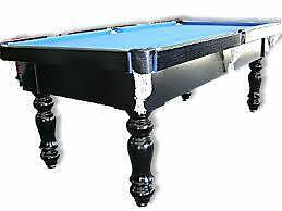 POOL TABLE-7X4 FT-1 PIECE SLATE ,FREE $600 ACCESSORIES- Blacktown Blacktown Area Preview