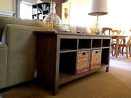 IKEA Hemnes sideboard / console table in grey brown