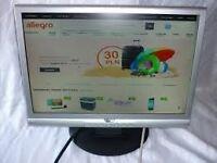computer monitor AOC LCD 19 inch Monitor Model 19W