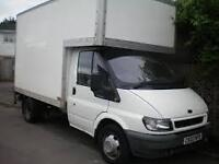 Removals Man and Van Service all areas across central Scotland and lanarkshire luton van all jobs