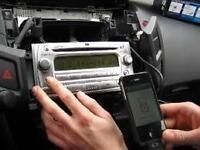 AUX IN Radio connecteur mâle adaptateur pour MP3 pou TOYOTA