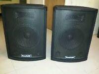 soundlab speakers p115aa x2