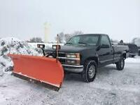 Snowplow drive way,road, yards or lots,fast & reliable