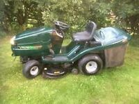 "Ride on lawnmower Hayter 19/40 Heritage 40"" cut 19hp Briggs collect or rear discharge"