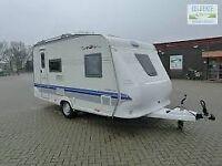 Hobby Excellent 4 Berth Fixed Bed Caravan - 2007