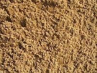 Washed building sand