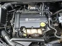 vauxhall corsa d z14xep engine out of a 2009 with 47k miles and warranty