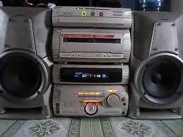 SONY MINI WI FI STEREO SYSTEM AM/FM/AMP/CASSETTE/CD PLAYER  MHC-W Petersham Marrickville Area Preview
