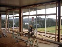 WINDOWS AND DOORS INSTALLATION, COMMERCIAL  Lic/Ins