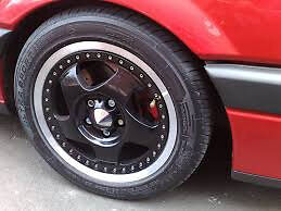 """two piece carving stark alloy wheels 5x100 6.5j 15"""""""