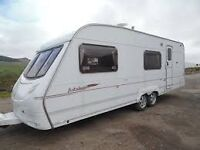 Ace Jubilee Equerry 6 Berth Twin Axle With Motor Mover 2007 Cris Registered