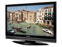 "Panasonic Plasma 50"" TH-50PX70B Television With Wall Bracket."