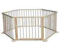 pine wooden playpen / room divider in excellent condition.