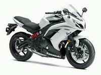 Kawasaki er6f 650cc 2013