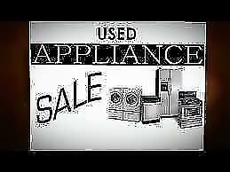 ** Used Appliance SALE   Fully Reconditioned FRIDGES STOVES WASHERS DRYERS and D/W with WARRANTY / 9267 - 50 St Edmonton