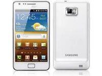 Samsung Galaxy S2 White (Unlocked) in good condition