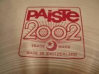 "Cymbale PAISTE 2002 16"" crash"