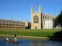 Do you live in Cambridge? We need people happy to help the University of Cambridge! Earn £30 cash!