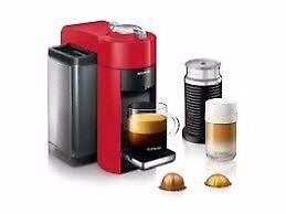 Nespresso Evoluo Virtuoline + Aeroccino Milk Frother