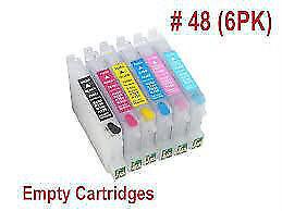 EPSON R200 R220 R300 R320 Refillable Ink Cartridges Kit