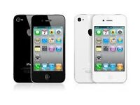 Apple Iphone 4s 16GB BRAND NEW SEAL PACK WITH FULLY BOX (black/white)