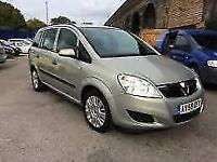 Vauxhall/Opel Zafira 1.6i 16v VVT ( 115ps ) ( a/c ) Life MPV 5 Door Hatch Back