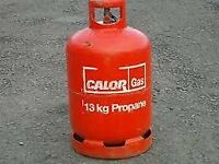 13kg Propane gas bottle (including some gas)