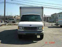 1998 Ford E-350 cube truck  cube truck