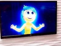 "LG 42LN5400 42"" 1080p HD LED tv with wall bracket not smart"