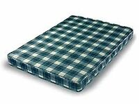 Brand New Comfy 4ft6 Padded Spring Mattress,FREE delivery Factory Sealed