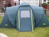 Khyam 4 man quick erect tent