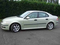 SAAB 9-3 SILVER AUTOMATIC PETROL WITH MBILE PHONE SYSTEM (QUICK SALE)