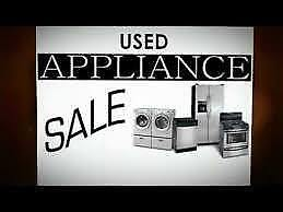 Used Appliances with Warranty -  FRIDGE  -  STOVE  -  WASHER  -  DRYER  / 9267 - 50 Street Edmonton T6B3B6