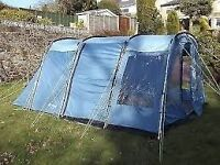 Outwell colarado 5 tent for sale only selling due to uphradr