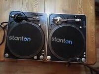 Stanton T62 Turntables
